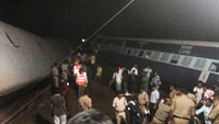 Rescue operation launched after India train accident