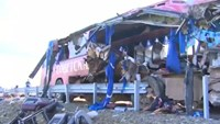 At least 16 killed, 56 injured in Russian bus crash