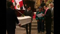 Peruvian government returns remains of 1980's conflict victims
