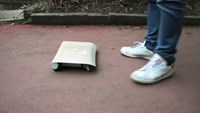 Japanese engineer develops world's first 'car in a bag'