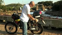 Brazilian builds water-powered motorbike