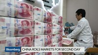 China's yuan leads 2-day selloff in Asian currencies