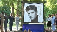 Elvis Presley remembered on 'Forever' stamp