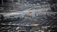 Cause of China chemical blasts still unknown