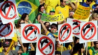 Brazil protests aim to oust embattled President Rousseff