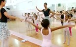 Ballet provides girls an escape from notorious Sao Paulo neighborhood