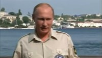 "Putin blames ""the rival side"" for violence in East Ukraine"