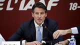 Newly elected President of International Association of Athletics Federations Sebastian Coe speaks at a news conference, in Beijing, August 19, 2015. Photo: Reuters /Jason Lee