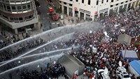 35 injured in Beirut anti-government protest