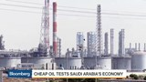 Cheap oil tests Saudi Arabia's economy