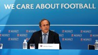 Platini avoids talking about his FIFA candidacy