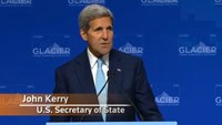 "Kerry warns of ""climate refugees"""