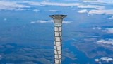 20 km high space elevator tower planned