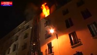 At least 8 dead in apartment fire in Paris
