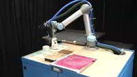 Robot mother builds and improves its own children