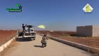 Fierce fighting between Syrian rebels and Islamic State