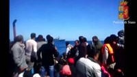 Migrant video shows boat conditions