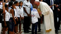 Pope prays for Cuban reconciliation