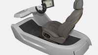 Intelligent car seat detects driver's stress level
