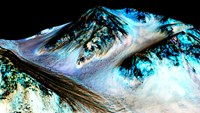 NASA: Liquid water found on Mars