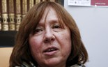 Alexievich, chronicler of Soviet life, wins Literature Nobel