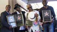 Kool & the Gang awarded Walk of Fame star