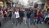 Protesters blame Turkish government for deadly blasts