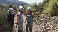 Bond actor Daniel Craig visits mines in Cyprus on U.N. mission