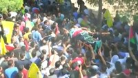 Palestinians hold funeral for attacker shot by Israeli soldiers