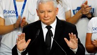 Triumphant eurosceptics declare victory in Polish election