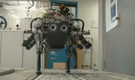 StarlETH dog robot copes with tough terrain