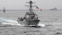 China says U.S. patrol in South China Sea threatens peace