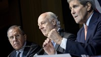 Kerry: Agreement for 'credible' Syrian elections