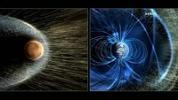 NASA - Mars' atmosphere 'gone with the solar wind'