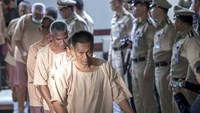 Human trafficking suspects brought to Thai court