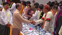 Myanmar's Suu Kyi meets parliament boss after victory