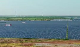 Indian solar park highlights clean energy goals