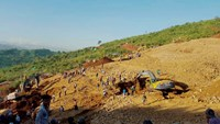 Hopes fade for 100 miners missing after landslide near Myanmar jade mine