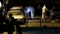 Bomb blast in central Athens