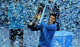 Djokovic ends year on high with Finals win over Federer