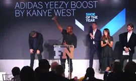 Kanye West accepts shoe award with lengthy speech