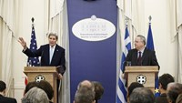 Kerry: Only solution to refugee crisis is ending Syrian war