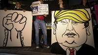 Fear, anger at New York anti-Trump rally