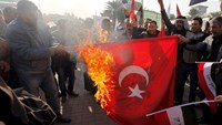 Baghdad protesters demand pullout of Turkish troops