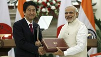 Abe's India visit boosts strategic ties