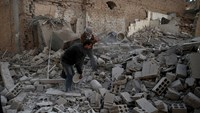 Scores killed in strikes on Syrian school district, other areas