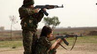 Christian female fighters take on IS in Syria