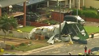 Sydney begins post-tornado clear-up