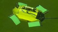 Budget robot for underwater archaeology