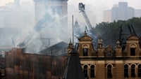 Fire wrecks Brazil museum